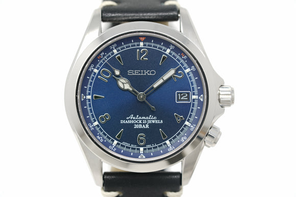 Pre-Owned Seiko 'Alpinist' Hodinkee U.S. Limited Edition SPB089