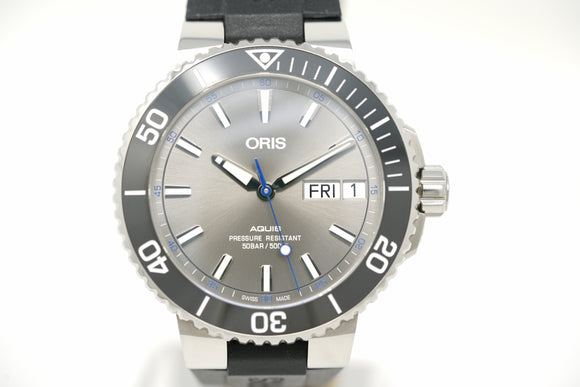 Oris Aquis Hammerhead Limited Edition 01 752 7733 4183-Set RS