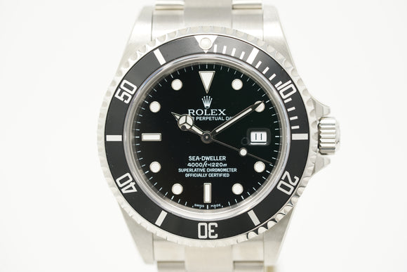 Rolex Sea-Dweller 16600 with M Serial