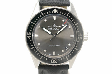 Pre-Owned Blancpain Fifty Fathoms Bathyscaphe 5100B 1110 B52A