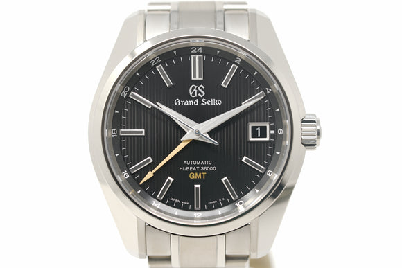 Pre-Owned Grand Seiko Heritage Hi-Beat 36000 GMT SBGJ213