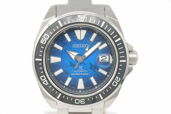Pre-Owned Seiko Prospex King Samurai Save the Ocean 'Manta Ray' SRPE33