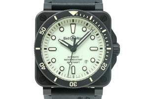 Pre-Owned Bell & Ross Diver Full Lum Limited BR0392-D-C5-CE/SRB