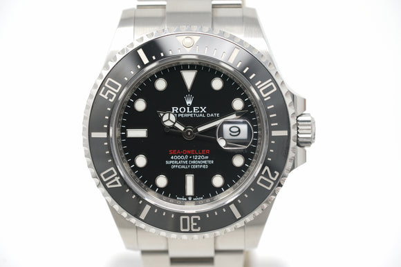 Pre-Owned Rolex Sea-Dweller M126600-0001
