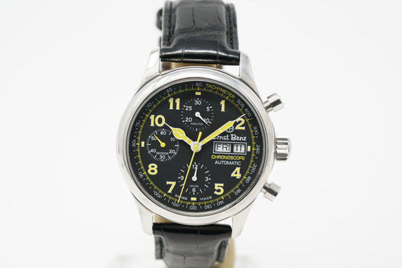 Pre-Owned Ernst Benz Chronoscope Day-Date 20100