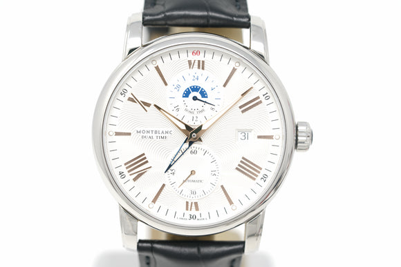 Pre-Owned Mont Blanc Star 4810 Dual Time 114857