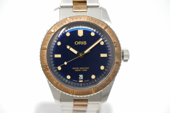 Pre-Owned Oris Diver's Sixty-Five 01 733 7707 4355-07 8 20 17