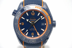 Pre-Owned Omega Seamaster Big Blue GMT 215.92.46.22.03.001