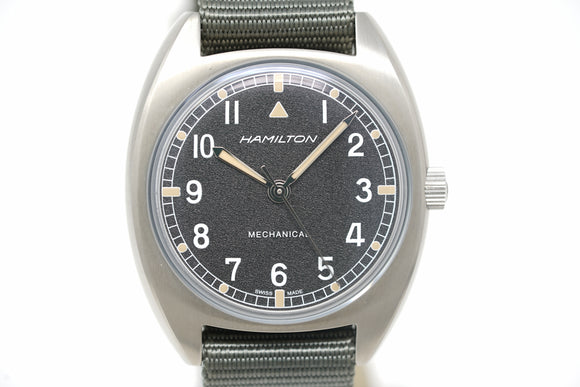 Pre-Owned Hamilton Khaki Aviation Pilot Pioneer Mechanical H76419931