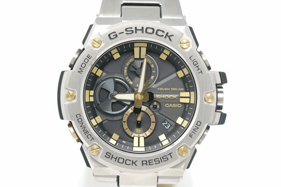 Pre-Owned G-Shock G-STEEL GSTB100D-1A9