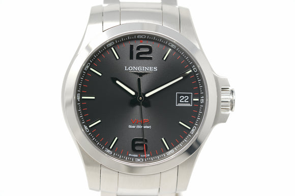 Pre-Owned Longines Conquest V.H.P. L3.716.4.56.6