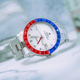 Zodiac Sea Wolf GMT 'Crystal' Topper Edition ZO9408