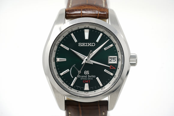 Pre-Owned Grand Seiko Spring Drive GMT Limited Edition SBGE033