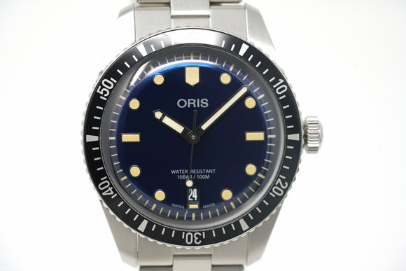 Pre-Owned Oris Divers Sixty-Five 01 733 7707 4055-07 8 20 18