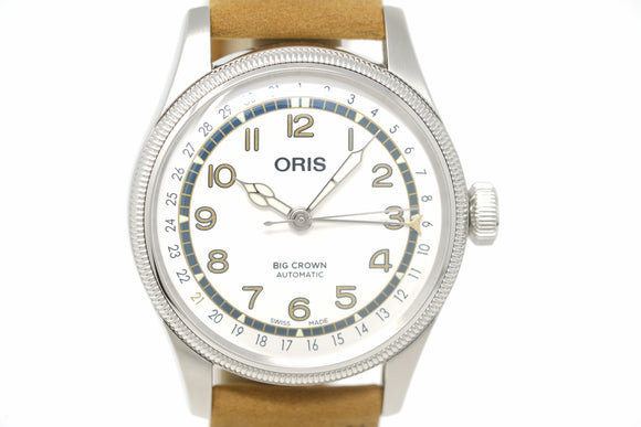 Pre-Owned Oris Big Crown Roberto Clemente Limited 01 754 7741 4081-Set