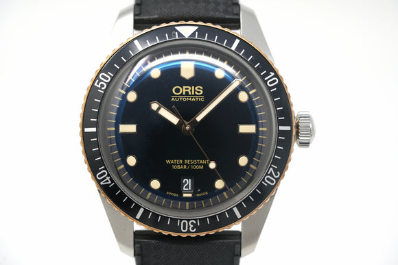 Pre-Owned Oris Divers Sixty-Five 01 733 7707 4354-07 5 20 30