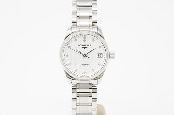 Longine Masters Silver Dial L21284776