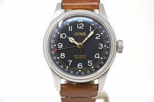 Pre-Owned Oris Big Crown Movember 2018 Edition 01 754 7741 4037-Set LS
