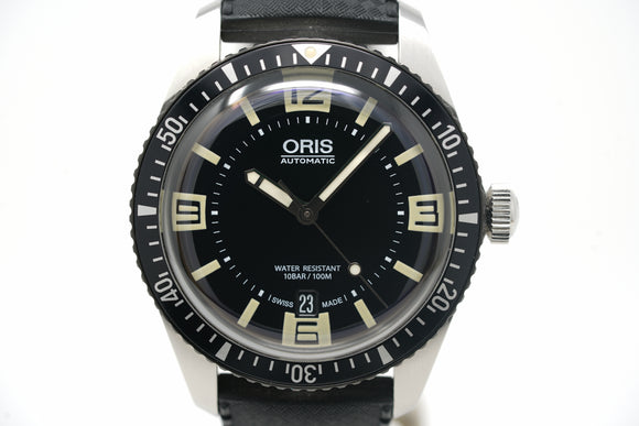 Pre-Owned Oris Diver's Sixty-Five 01 733 7707 4064-07 5 20 22
