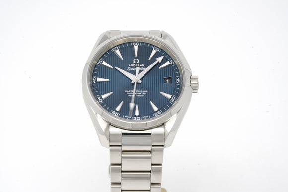 Omega Seamaster Aqua Terra Master Co-Axial Chronometer 231.10.42.21.03.003 with Strap and Bracelet