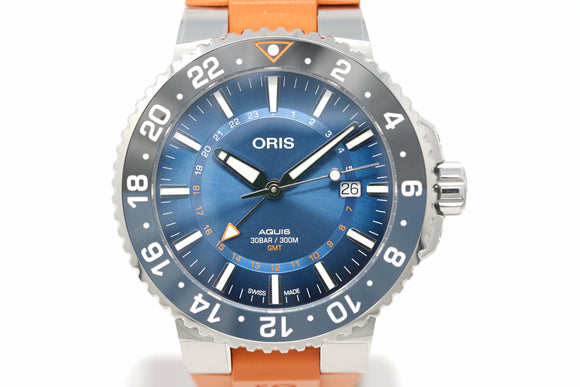 Pre-Owned Oris Carysfort Reef Limited Edition 01 743 7734 4187