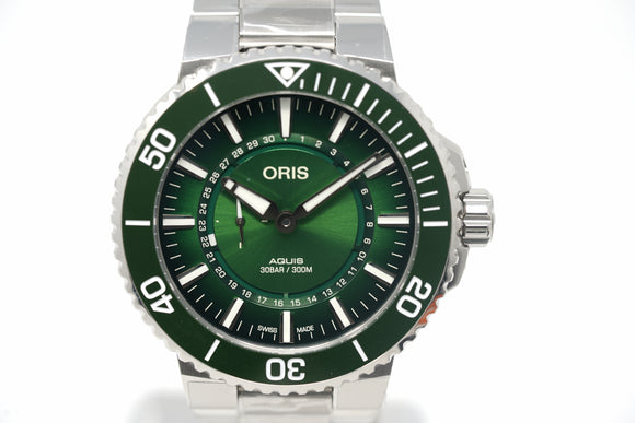 Pre-Owned Oris Aquis Hangang Limited Edition 01 743 7734 4187