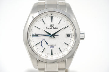 "Pre-Owned Grand Seiko x Timeless ""Blizzard"" Limited GMT SBGE249"