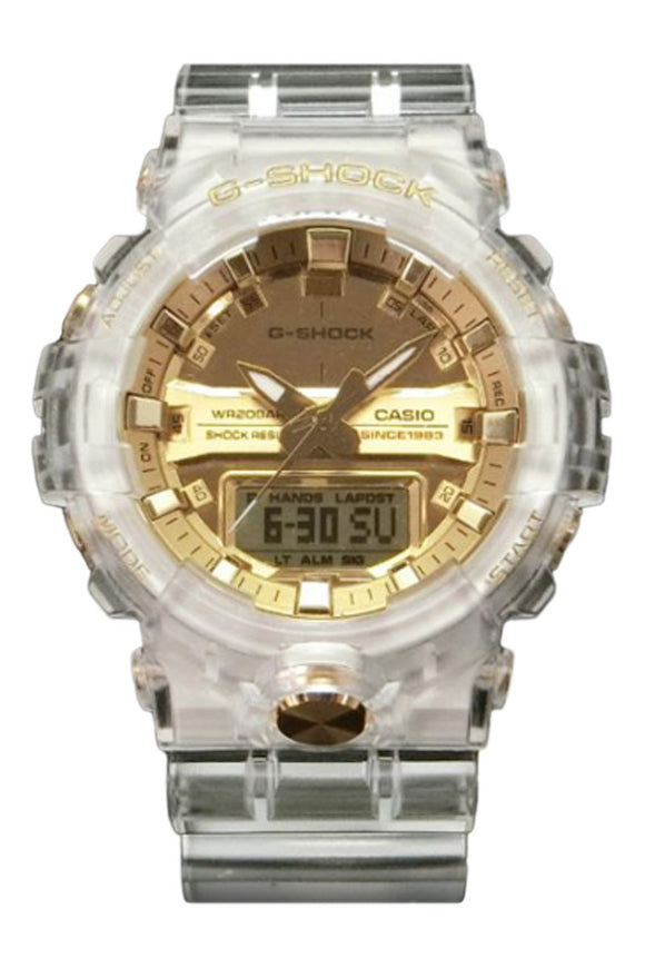 G-Shock 35th Anniversary: Skeleton Gold GA835E-7A