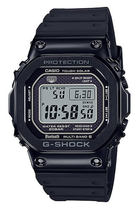 G-Shock Resin Band Black GMWB5000G-1 (Deposit)