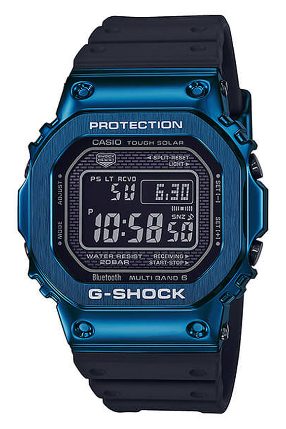G-Shock Resin Band Blue GMWB5000G-2