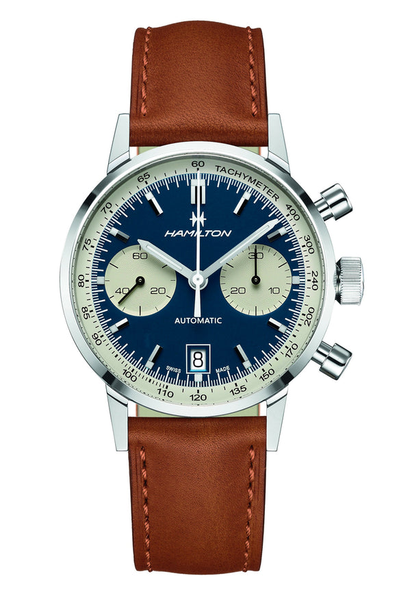 Hamilton Intra-Matic Auto Chrono Blue H38416541