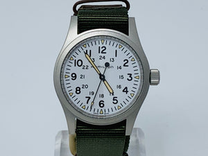 Hamilton Khaki Field Mechanical White Dial Watch H69439411