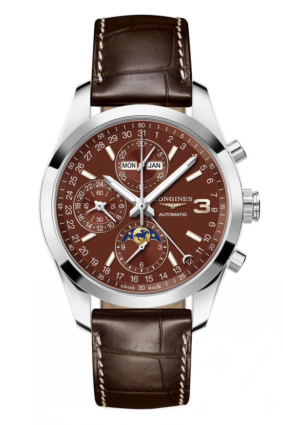 Longines Conquest Chronograph Classic Triple Crown Series L2.798.4.62.3