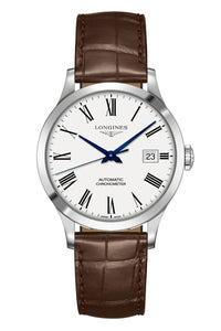 Longines Record 38mm Automatic Chronometer L2.820.4.11.2