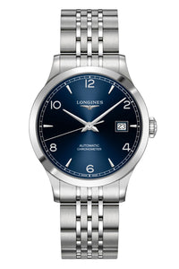 Longines Record Blue 38mm Automatic Chronometer L2.820.4.96.6