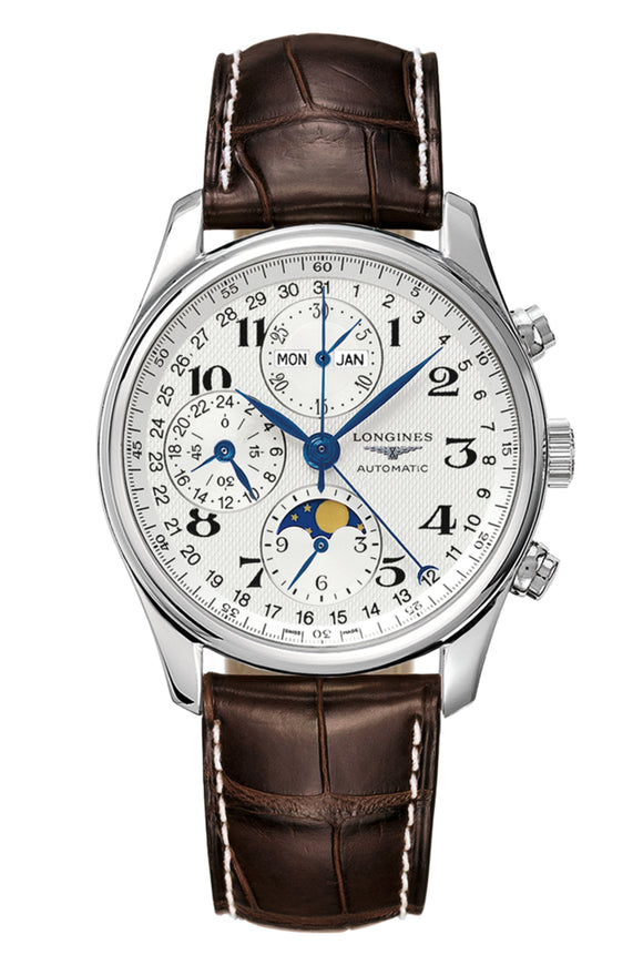 Longines Master Collection 40mm Chronograph with Moon Phase L2.673.4.78.3