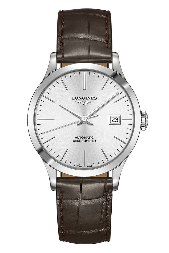Longines Record 38mm Automatic Chronometer L2.820.4.72.2