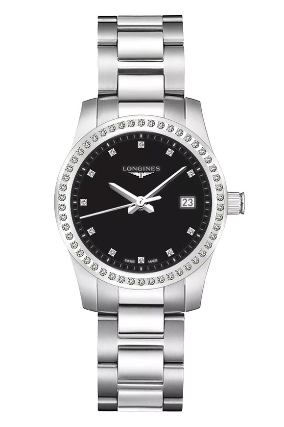 Longines Conquest Diamond Ladies L3.400.05.7.6