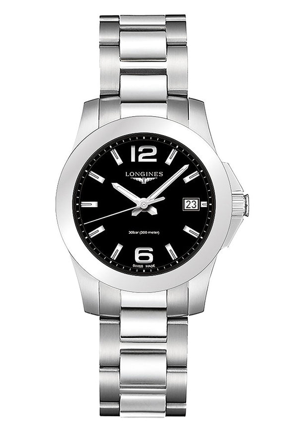 Longines Conquest 34mm Stainless Steel L3.377.4.58.6