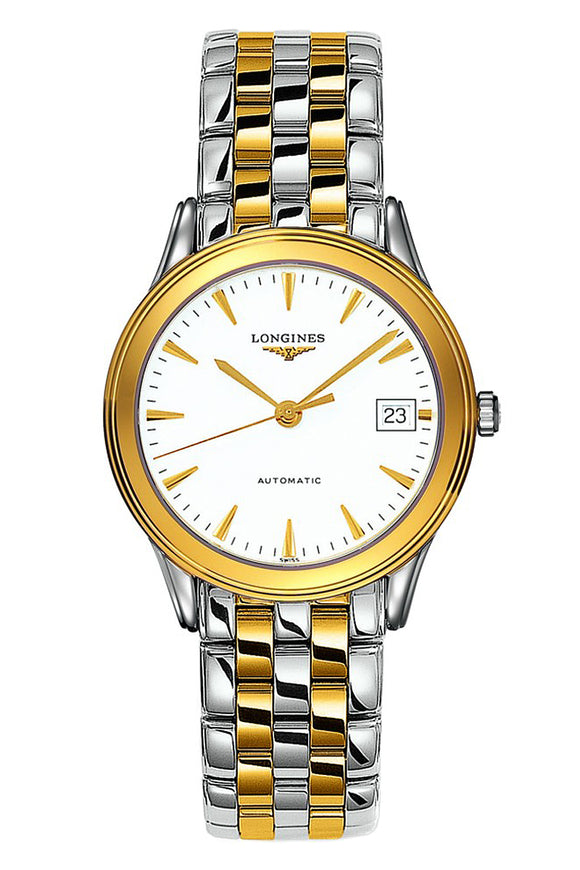 Longines Flagship 35mm Stainless Steel/PVD Automatic L4.774.3.22.7