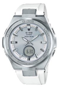 G-Shock Baby-G G-MS White and Silver-Tone MSGS200-7A