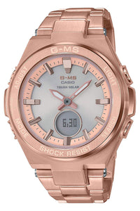 G-Shock Baby-G Rose Gold G-MS MSGS200DG-4A