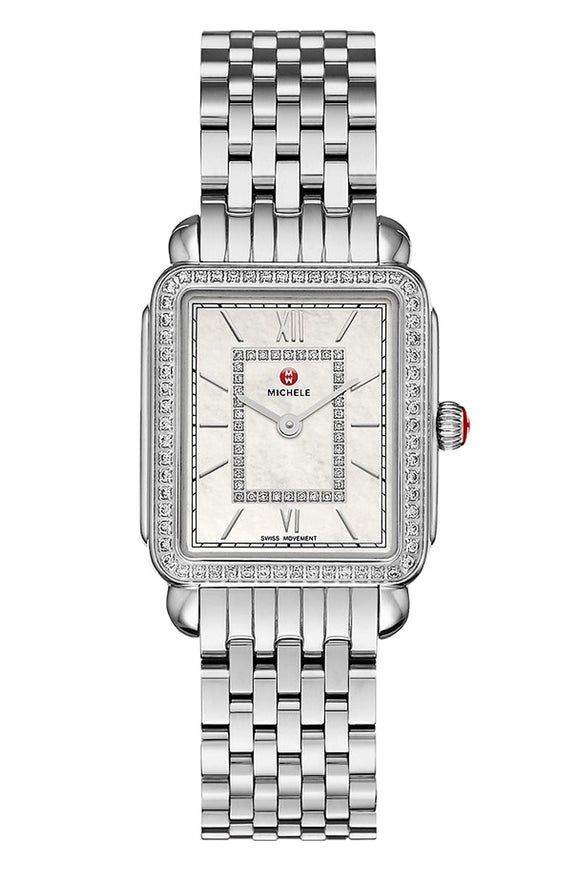 Michele Deco II Mid Stainless Diamond MWW06I000001