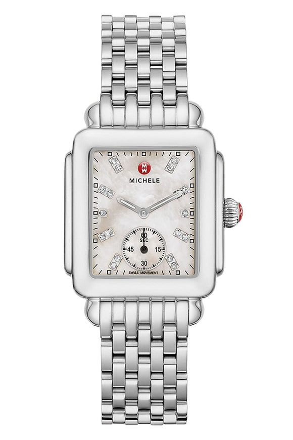 Michele Deco Mid Stainless Diamond Dial MWW06V000002
