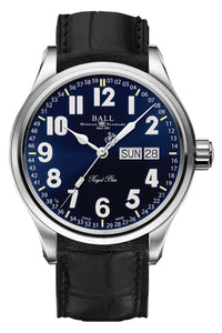 Ball Trainmaster B&O Royal Blue Limited NM1058D-LL9J-BE