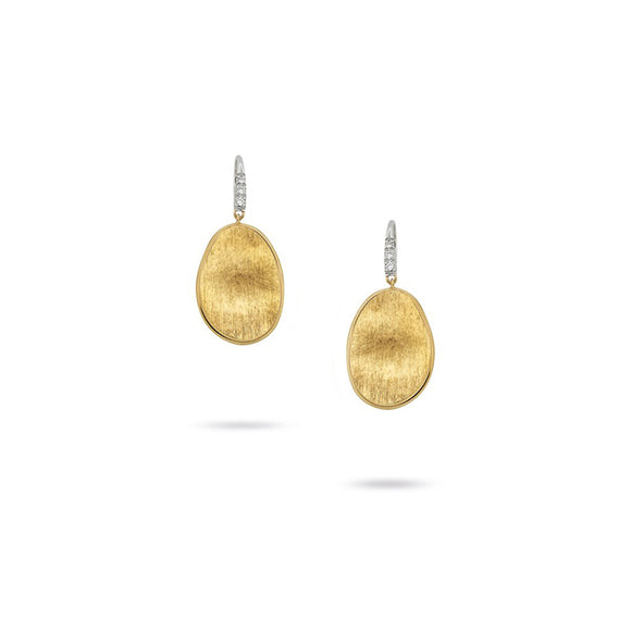 Marco Bicego Lunaria Yellow Gold Earrings OB1342-A-B-YW