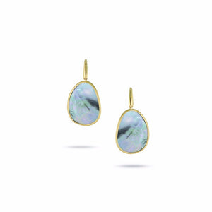 Marco Bicego Lunaria Yellow Gold Earrings OB1343-A-MPB-Y