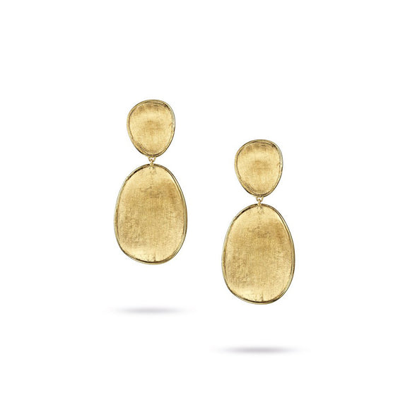 Marco Bicego Lunaria Yellow Gold Earrings OB1345-Y
