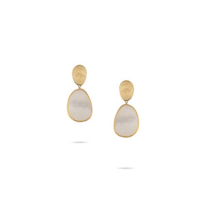 Marco Bicego Lunaria Yellow Gold Earrings OB1403-MPW-Y