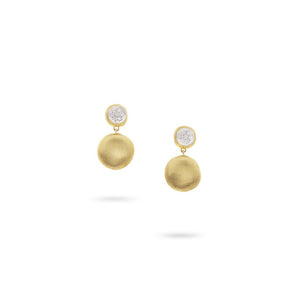Marco Bicego Jaipur Gold Small Drop Earrings OB1569-B-YW